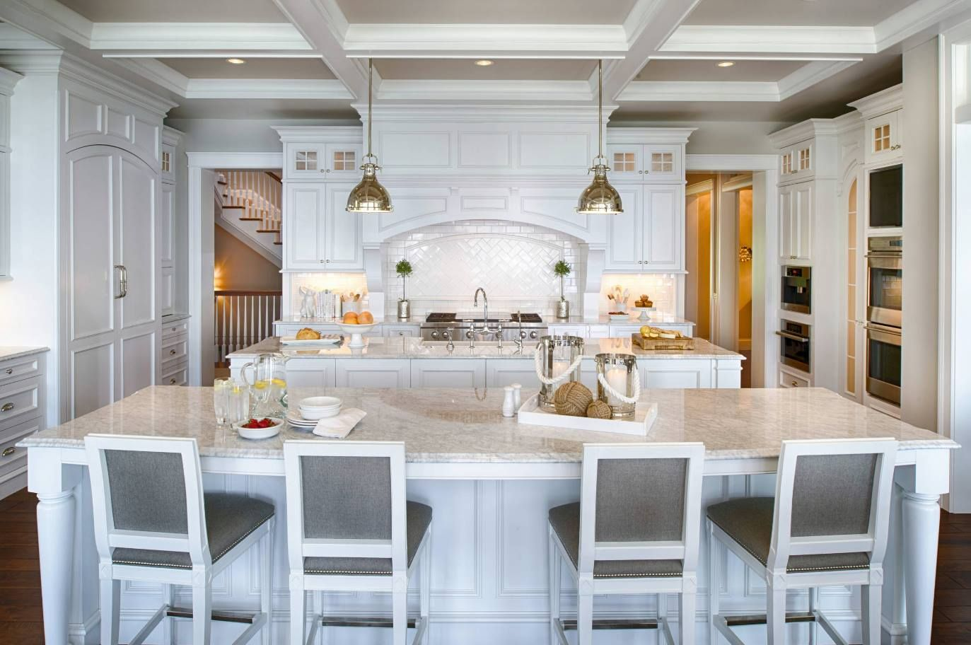 TWO kitchen islands?! Now that adds to the wow factor! Could you use ...