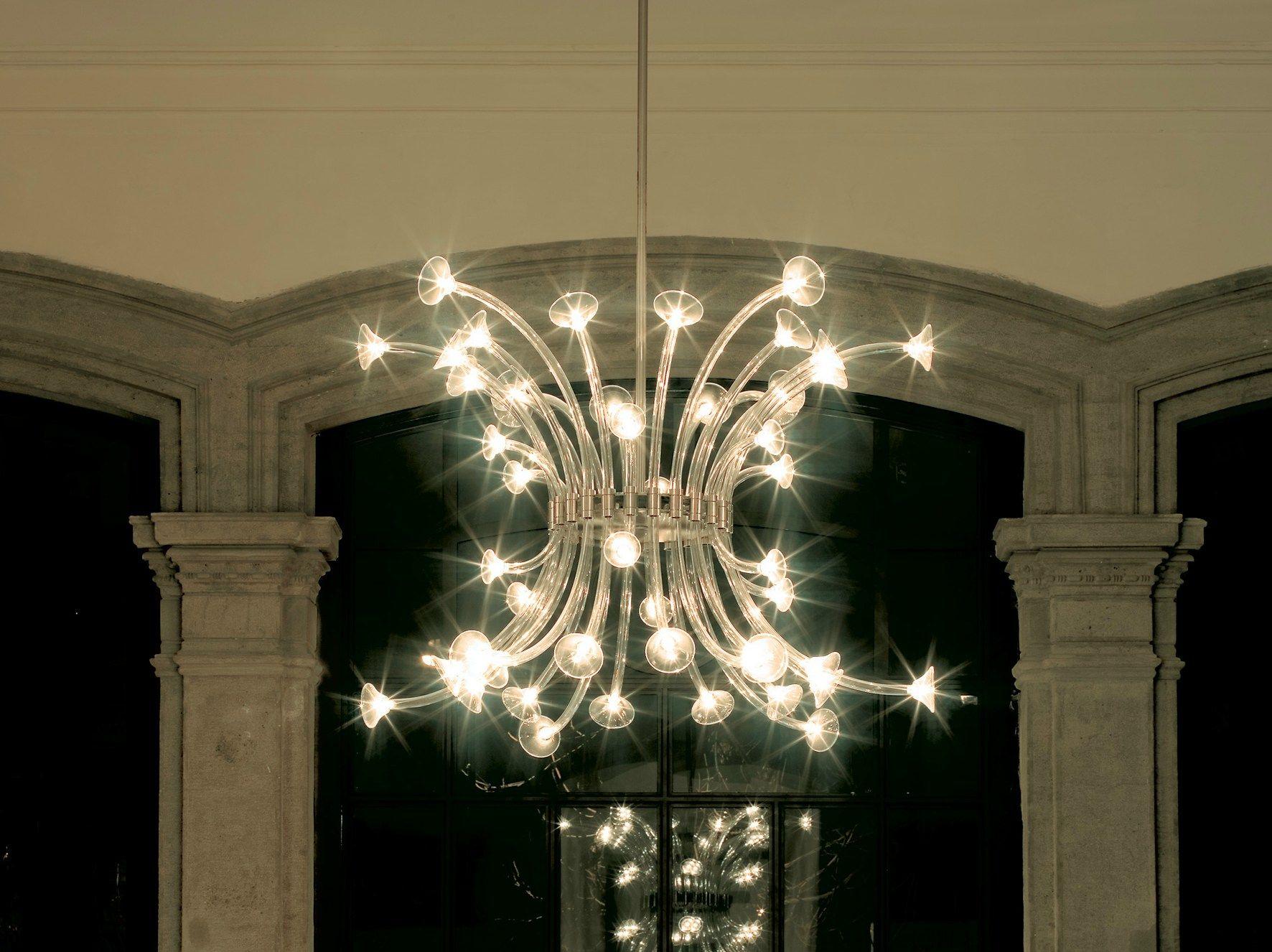 Lampada a sospensione in pyrex: disponibile anche come lampada