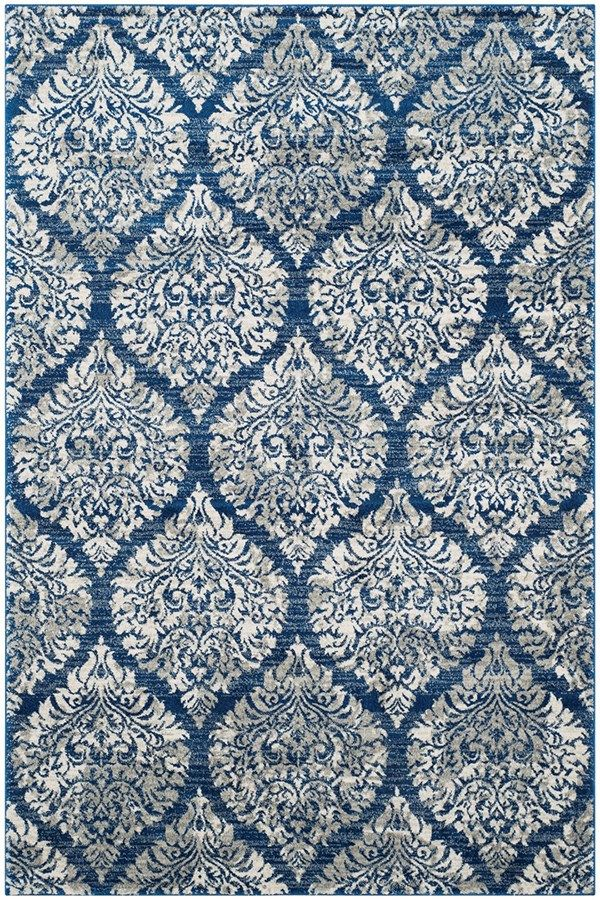 Safavieh Evoke Evk 268 Rug In Navy Rugs Direct Rug Direct Textured Carpet Frieze Carpet