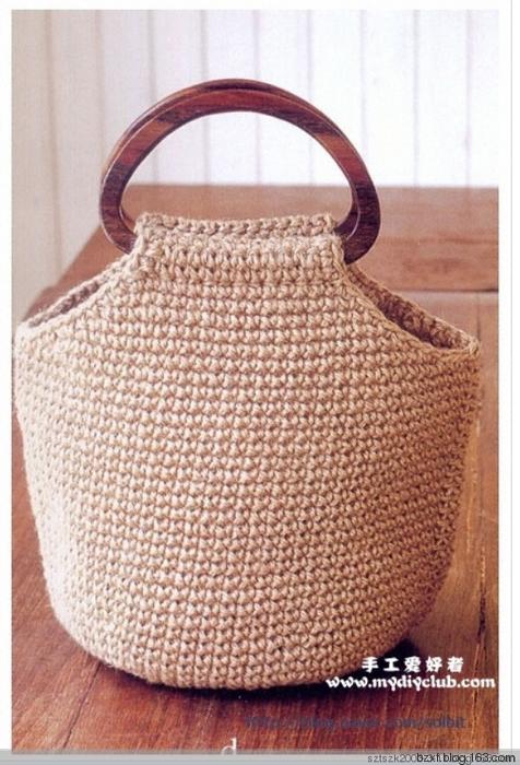 手提包 - 编织幸福 - 编织幸福的博客 #crochethandbags