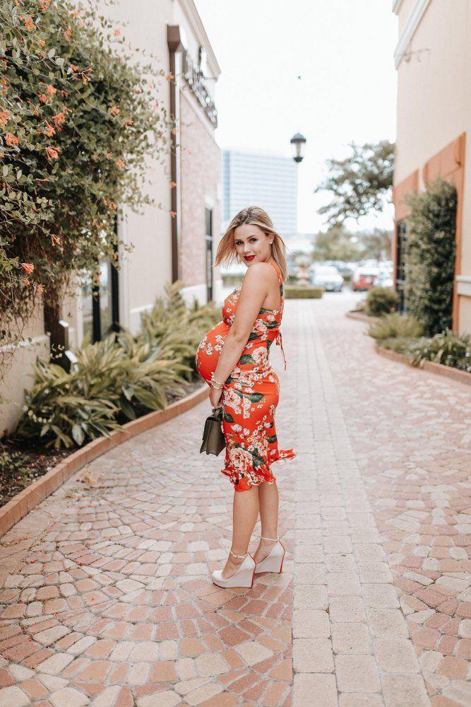 d4136f73341 Floral ASOS Dress – 36 Weeks Pregnancy Update