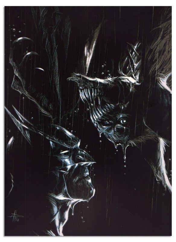 Batman lithography by Gabriele Dell'otto