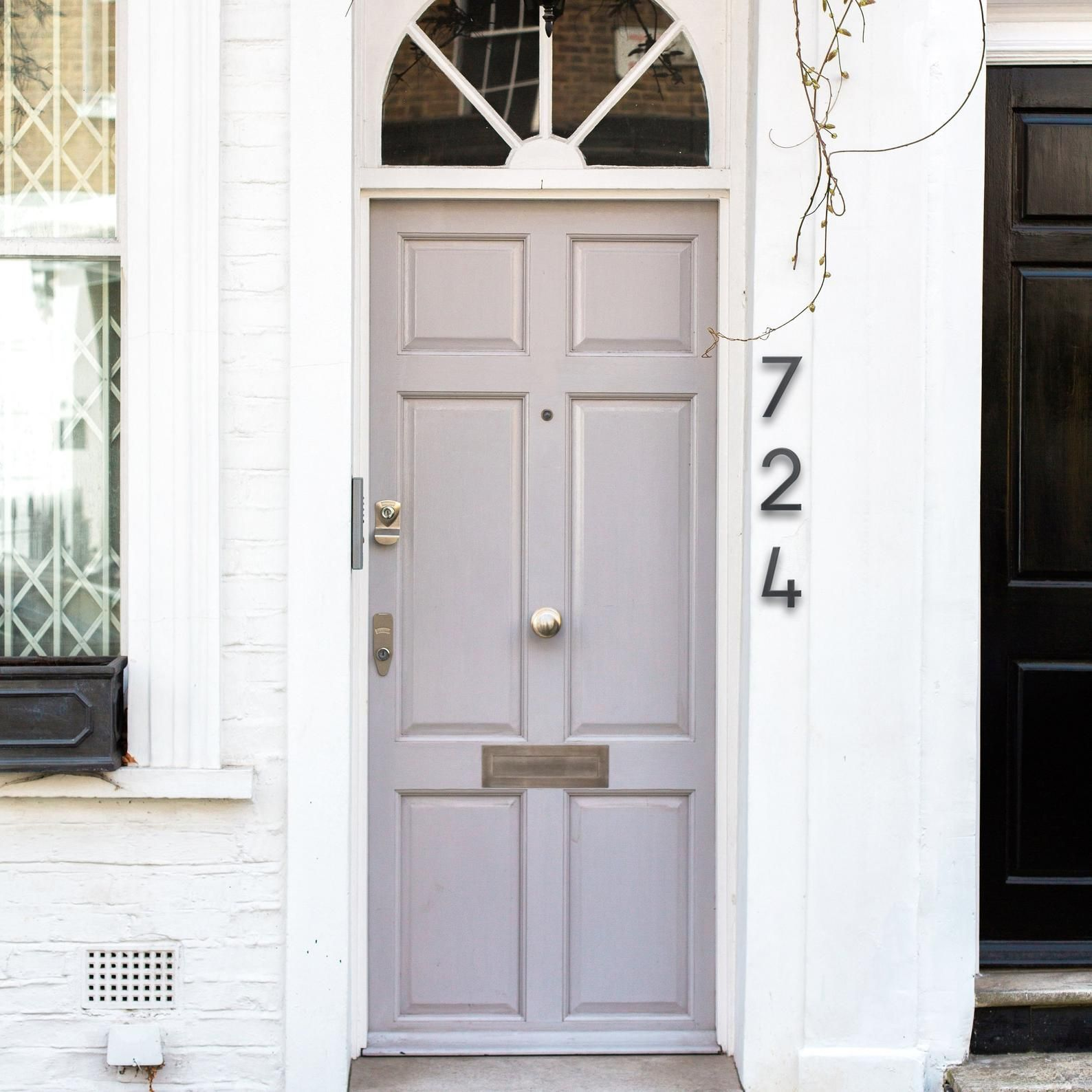 16 INCH Deco House Numbers (6 inch example shown) House