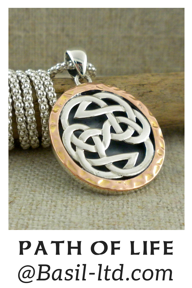 Rose Lewis Knot Pendant by Keith Jack in 2020 (With images
