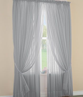 Sheer Curtains Sheers Sheer Curtain Panels Semi Sheer Curtains