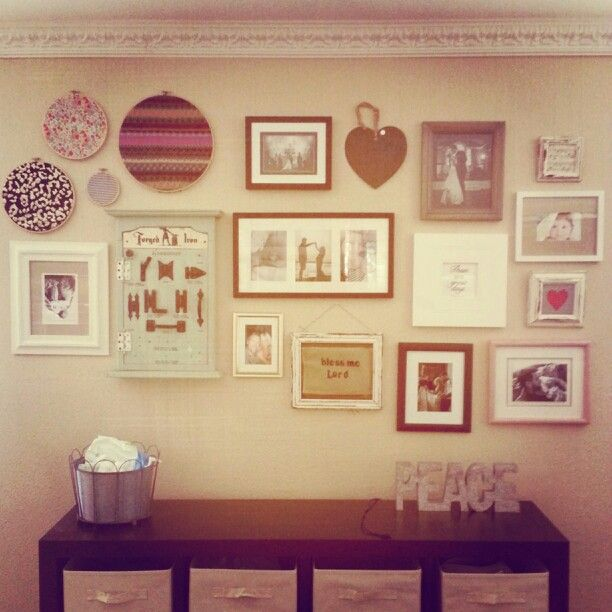Wall grouping | j+m home ideas | Pinterest | Group, Walls and Wall ...