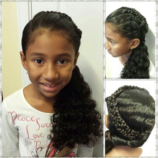 Real Life Doll Creations Hair Style For Little Girls Kids