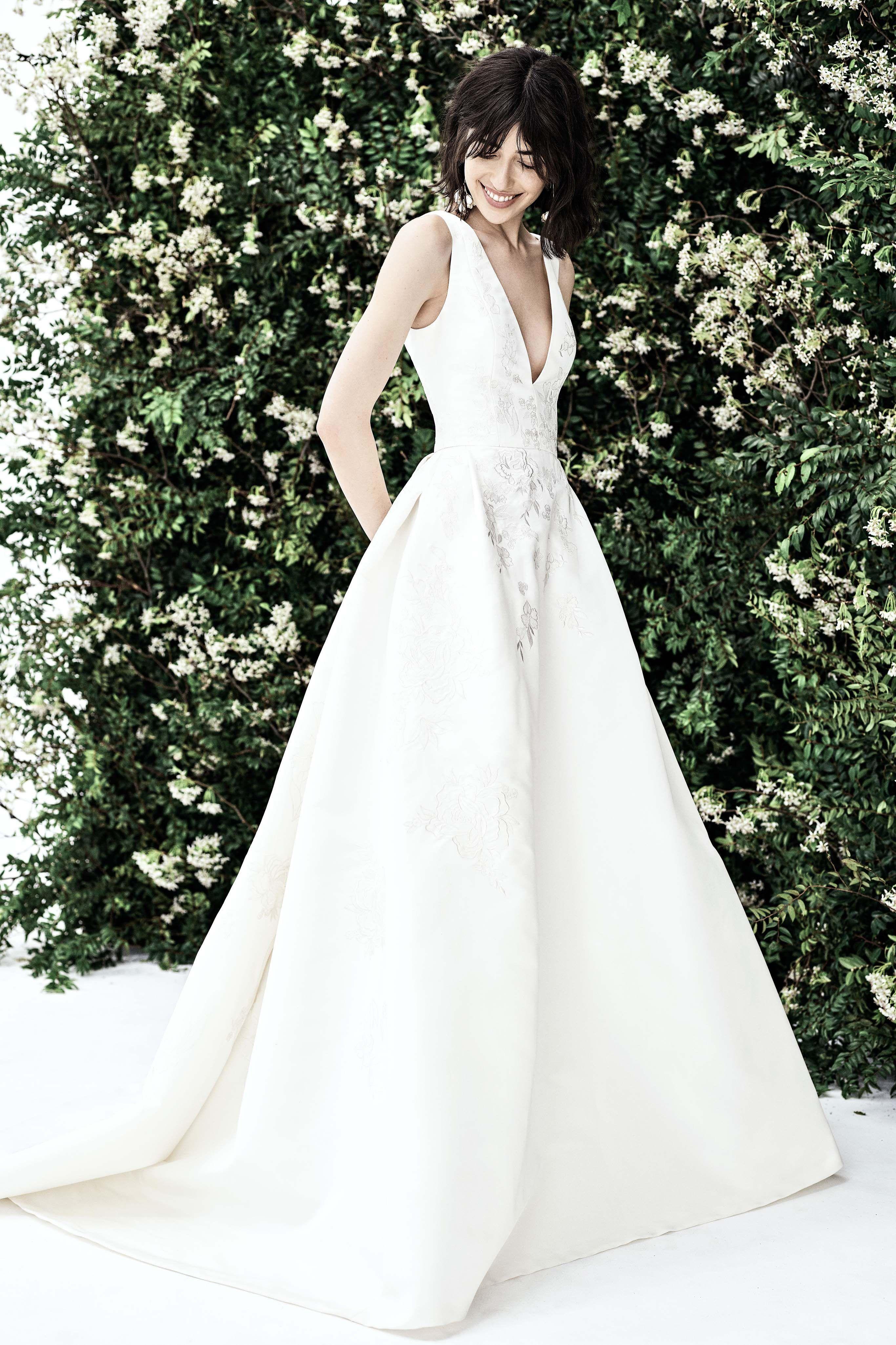 Carolina Herrera Bridal Spring 2020 Fashion Show Carolina Herrera Bridal Carolina Herrera Wedding Dress Herrera Wedding Dress