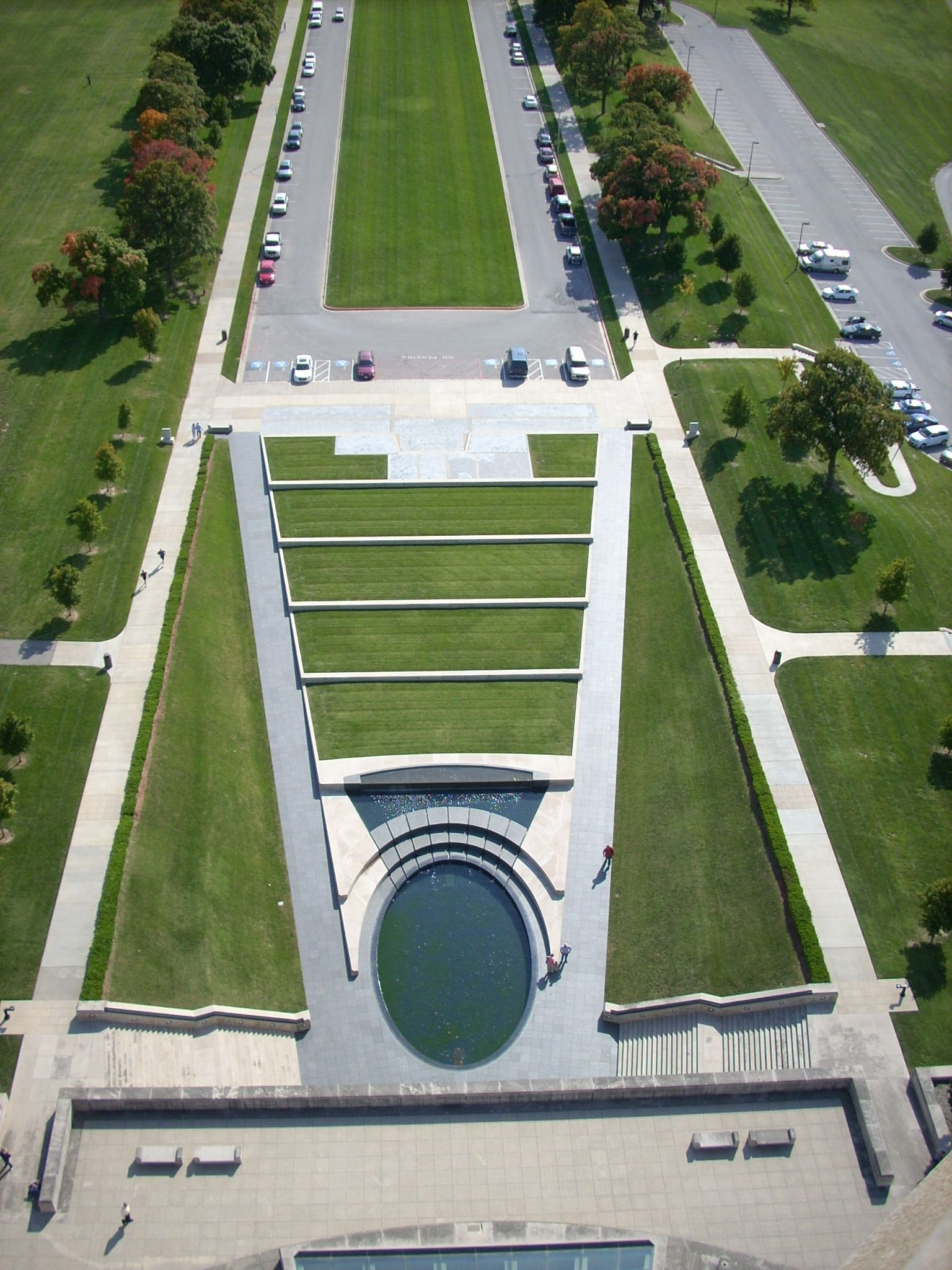 I Shot This Pix From The Top Of The Wwi Tower Looking Down To The Museum Entrance This Trip Should Be On Everyone S Bucket L Kansas City Missouri City Tourist