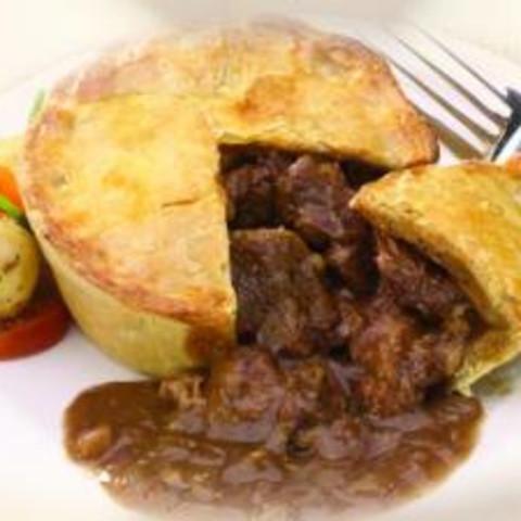 Main - Steak Pie Pub Food | Recipe | Pub food, Food ...