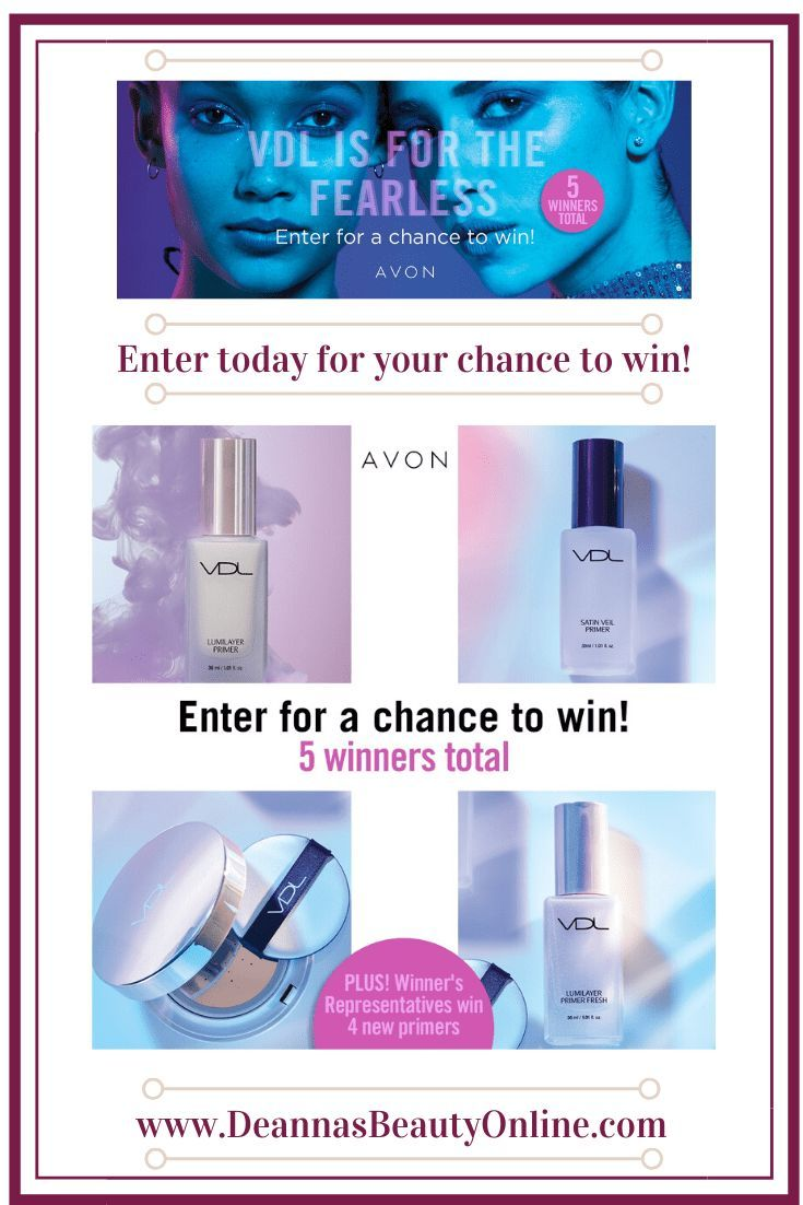 Avon Sweepstakes! Enter to Win in 2020 Makeup giveaway