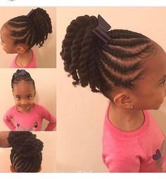 Natural Hairstyles For Black Girls With Images Black Kids