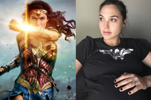"Gal Gadot Was Pregnant While Shooting ""Wonder Woman,"" Just"