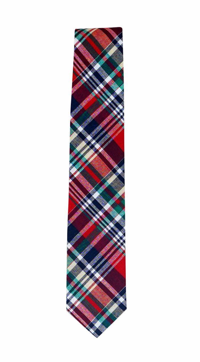 Crowley Madras Tie