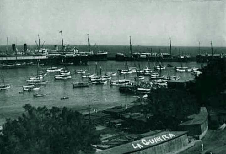 Una Perspectiva Desde Un Angulo Totalmente Diferente De Nuestro Antiguo Puerto De La Guaira Circa 1928 1930 Outdoor Canal River