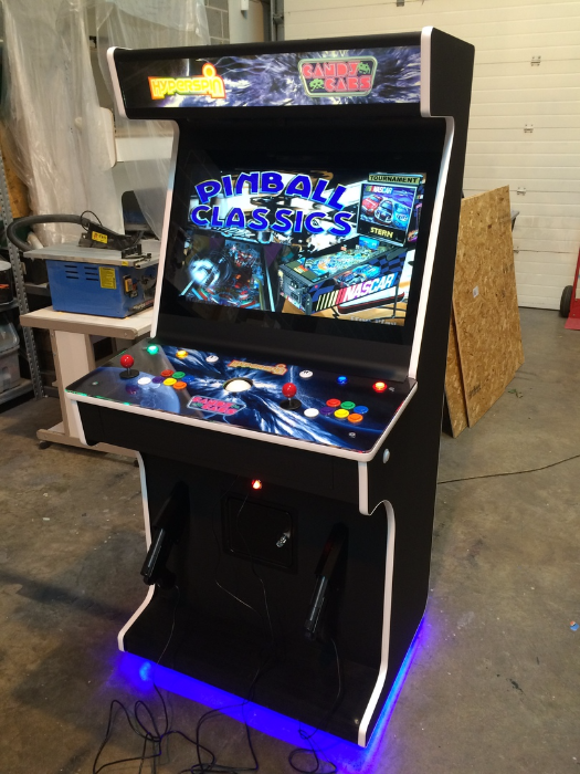 Candycabs Arcade Machines For The Home And Office Slimline Range Arcade Arcade Cabinet Video Game Cabinet