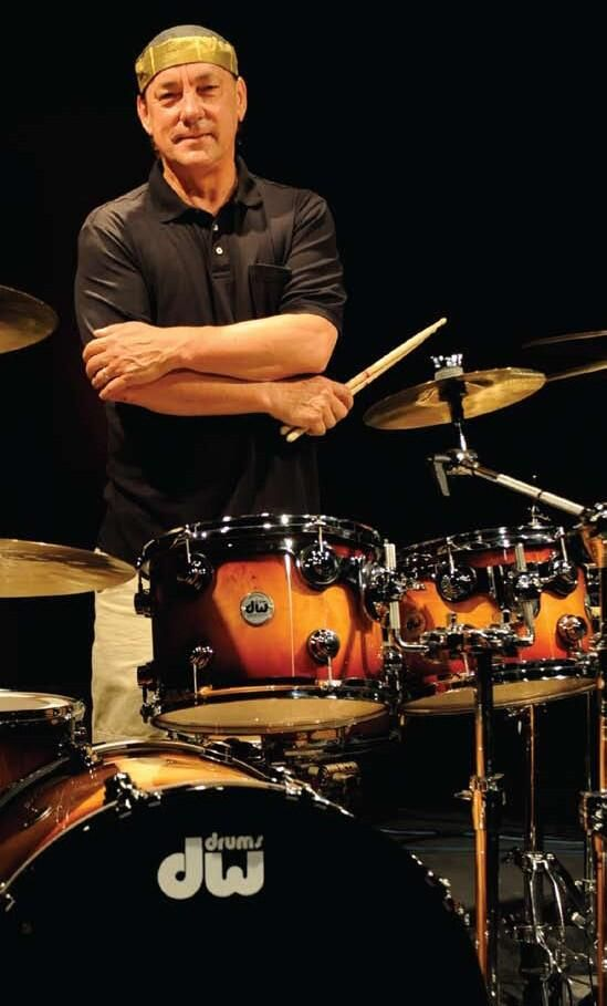 The Professor Neal On The Drums From Rush With Images Rush