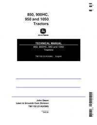 repair manual john deere 850 900hc 950 1050 tractors pdf technical repair manual john deere 850 900hc 950 1050 tractors pdf technical manual