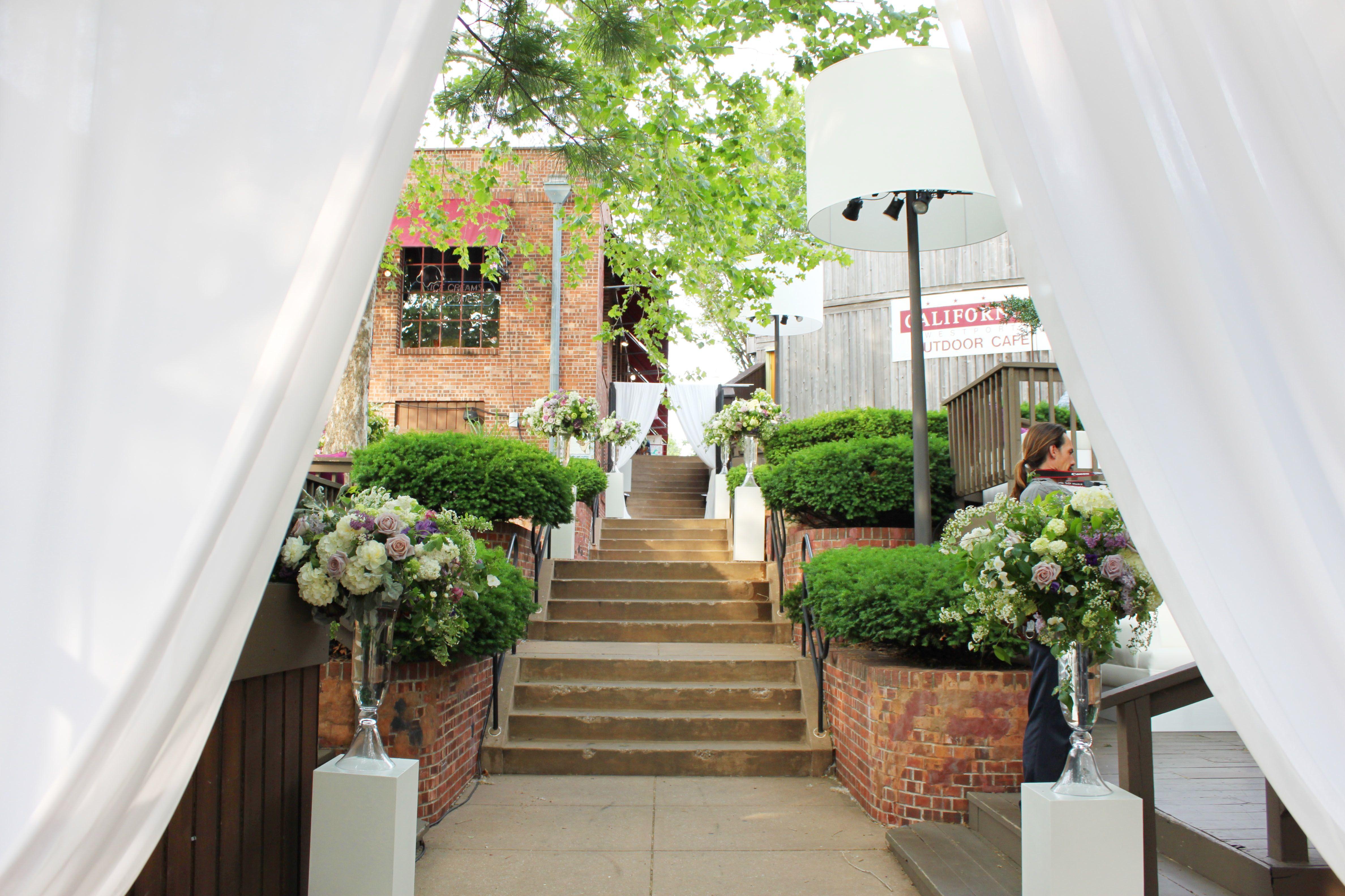outdoor reception | Kansas city wedding reception, Wedding ...