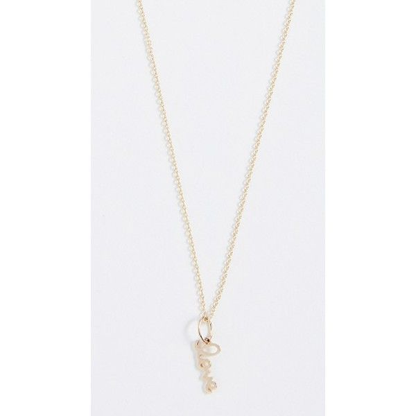 Sydney Evan Pure Charm 14K Gold Necklace P1NW5