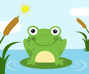 Funylool Com Frog Drawing Frog Illustration Cartoon Clip Art