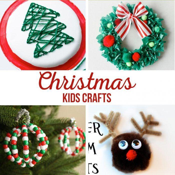 DIY Christmas Kids Crafts Crafts, DIY Christmas and Simple kids crafts