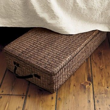 12 Creative Ways To Add Storage When You Have No Space In The First Place Contemporary Storage Boxes Wicker