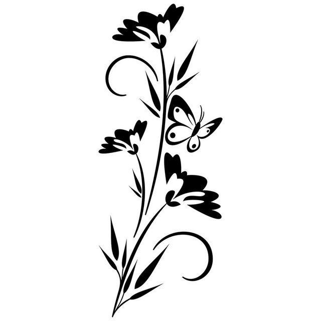 Wandtattoo »Blütenpracht« #fliesenstreichen