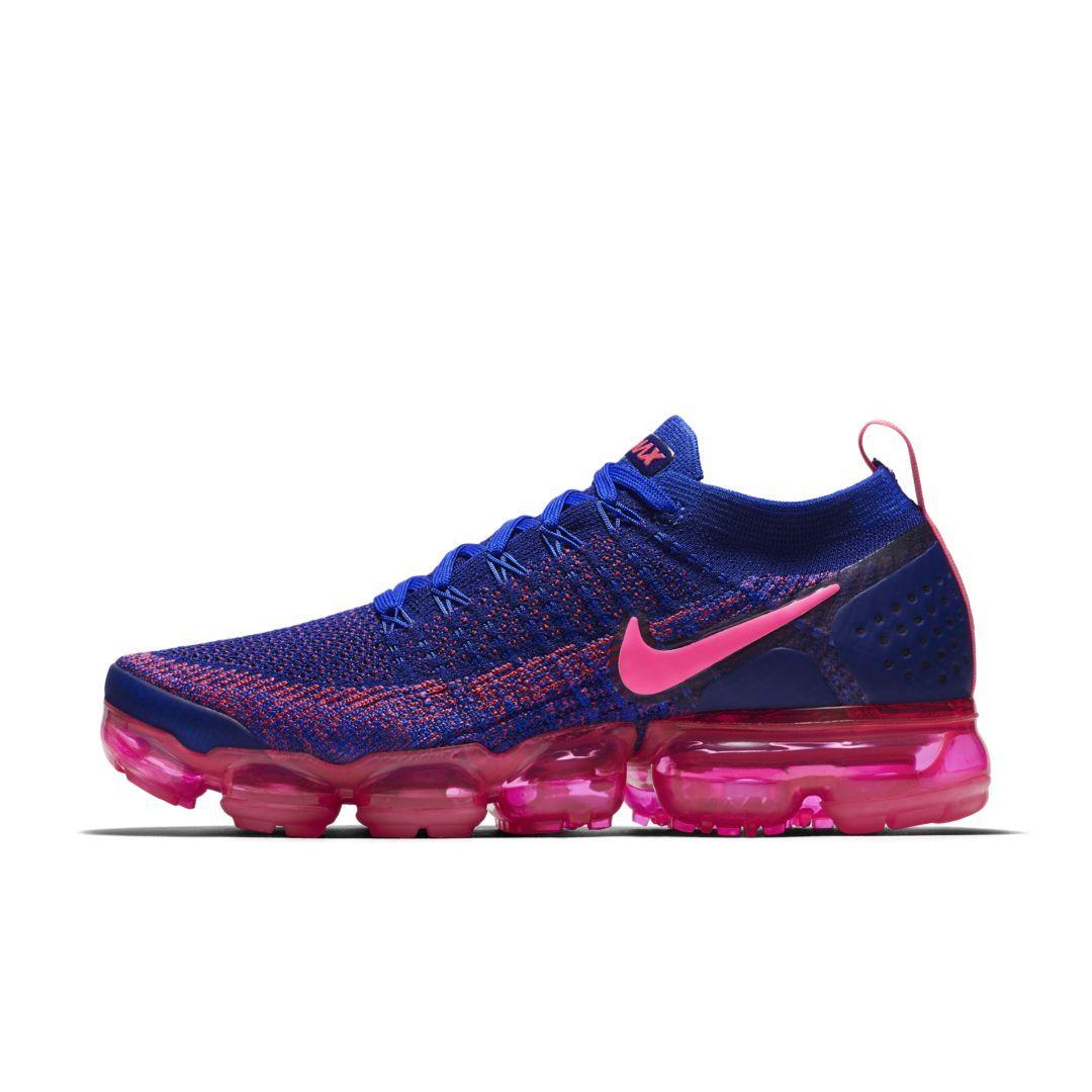 93d60655c9839 Nike Air VaporMax Flyknit 2 Metallic Women s Shoe Size 8 (Racer Pink ...