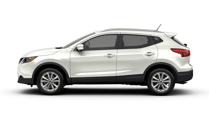 2019 Nissan Rogue® Sport SV in Pearl White Nissan rogue