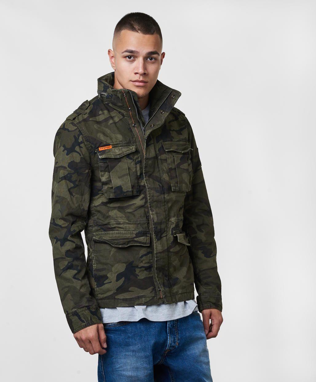 Rookie Military Jacket | Military jacket, Jackets, Superdry