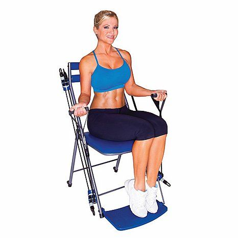 Chair Gym Exercise System With Twister Seat And Workout Dvds Hsn Total Body Workout Fitness Body Workout Dvds