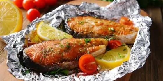 receta para filete de salmon al horno