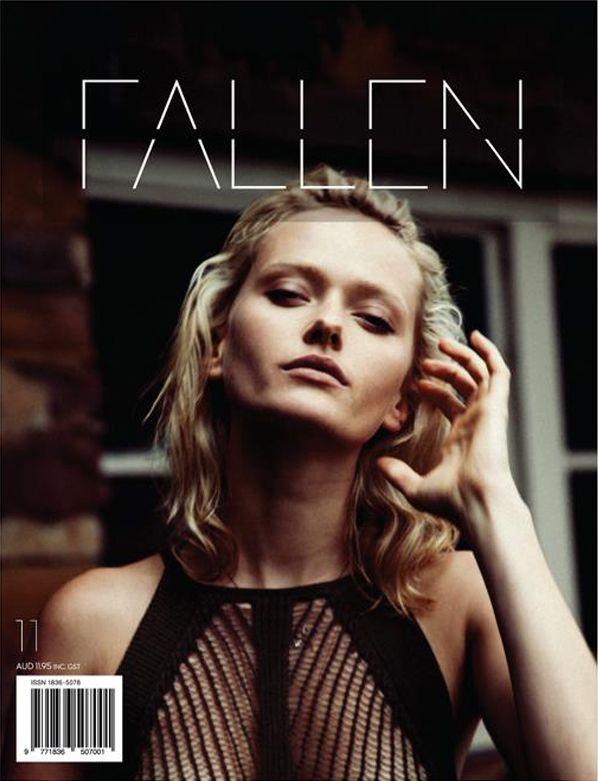 Fallen Magazine No.11 Annabella Barber by Akila Berjaoui