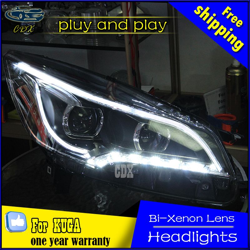 Cdx Car Styling For Ford Kuga Headlights 2013 2015 Escape Led
