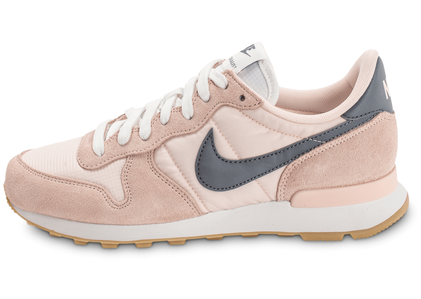 nike internationalist w chaussures blanc beige gris