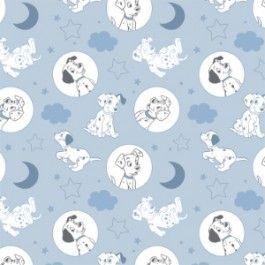 101 Dalmatians camelot fabric