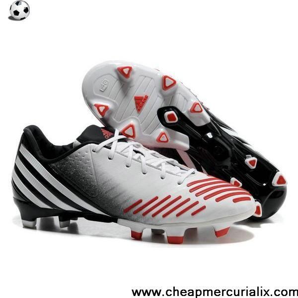 on sale b0ebf cd9c4 Buy Cheap adidas Predator LZ TRX FG White Black Red Boots Store