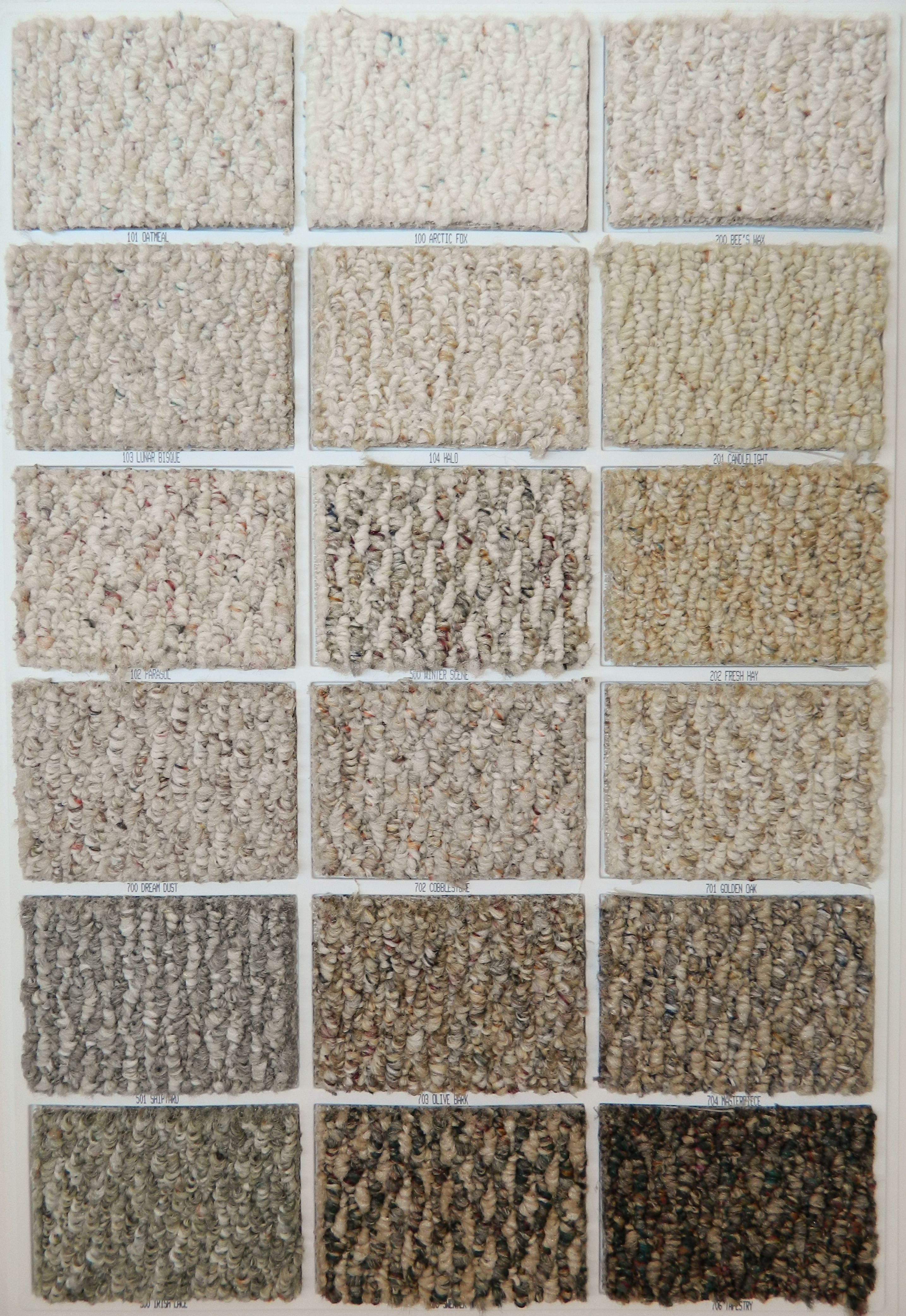 Shaw S Carpet Samples Have Something For Every Taste