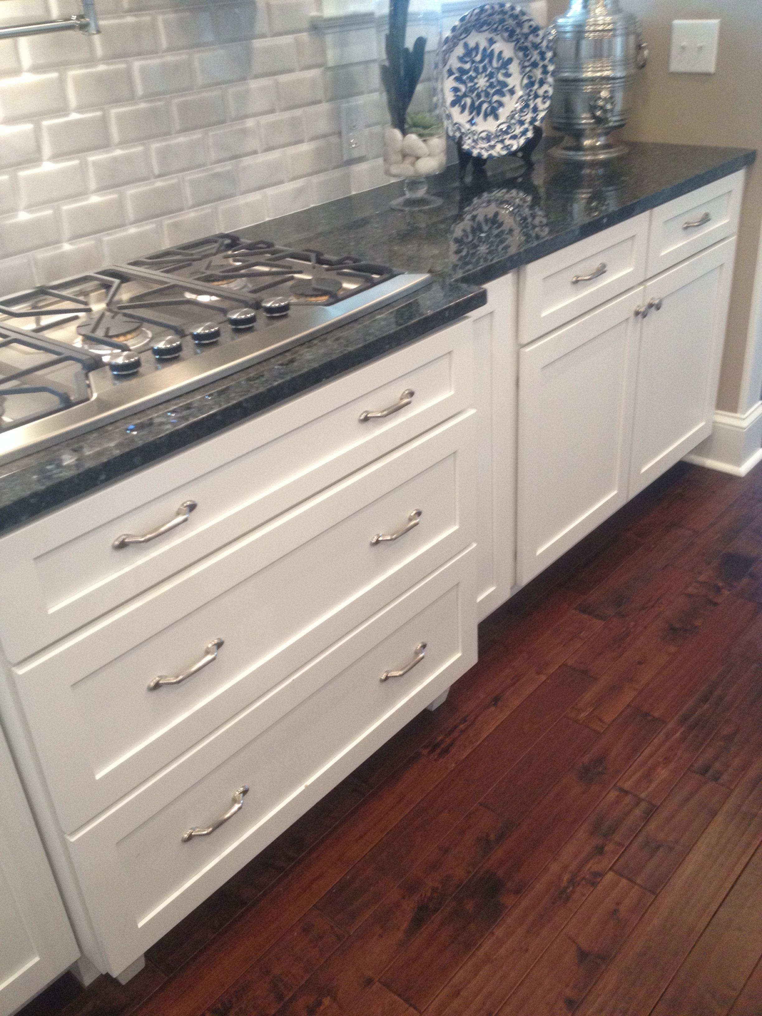 blue pearl granite kitchen storage cabinets modern white subway tile