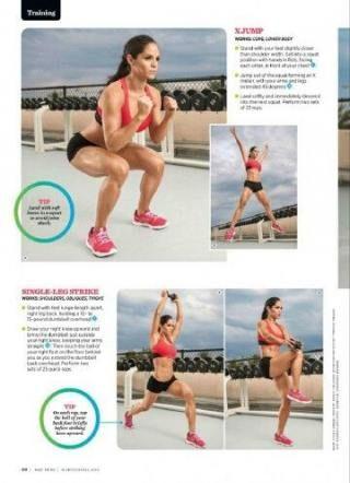 23 best Ideas fitness model muscle michelle lewin #fitness