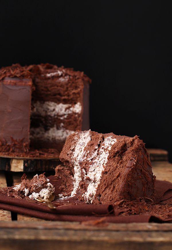 My Lovely Food : Lausanne y Tarta suave de chocolate y crema de Straciatella (Concurso Chocolates Valor)