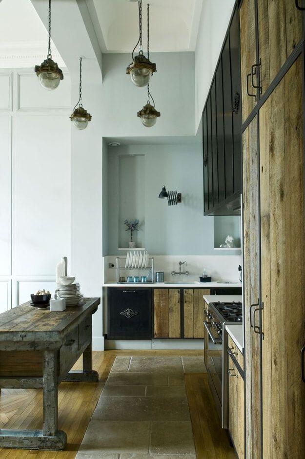 Parisian flea market style | Home, Home kitchens, Kitchen ...