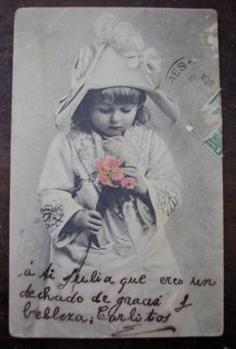 EARLY-1900-s-7-NICE-PHOTO-POSTCARDS-LITTLE-GIRLS-BOYS-AND-CHILDREN