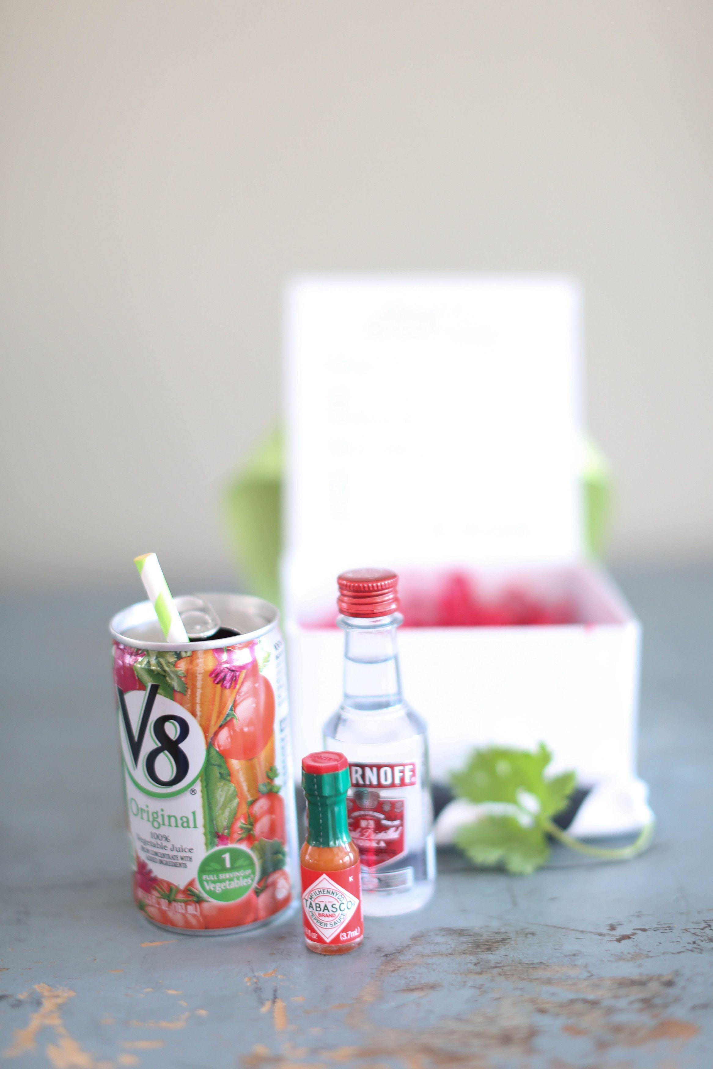Adorable Mini Bloody Mary Kit For Vegas Wedding Welcome Bags Love The Teensy Tiny Tabasco