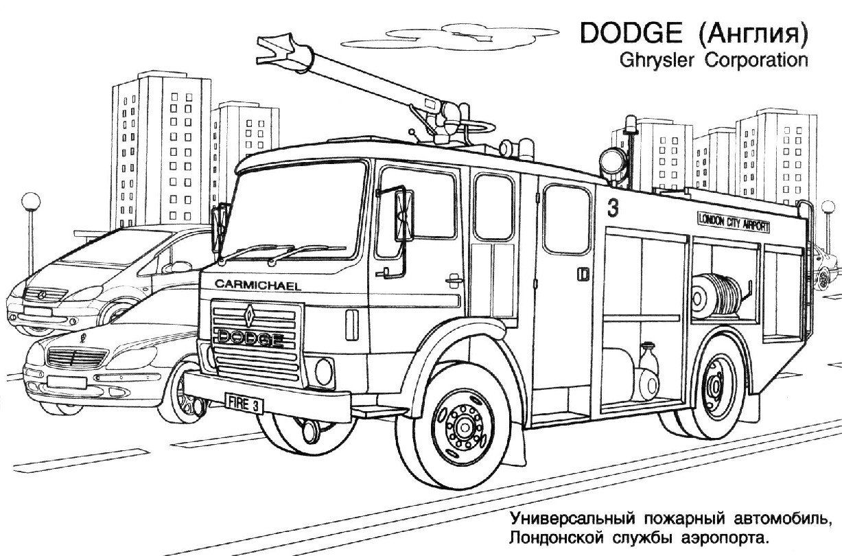 Fire Truck Coloring Page Inspirational Firetruck 22 Transportation Printable Coloring Pages Truck Coloring Pages Firetruck Coloring Page Fire Trucks