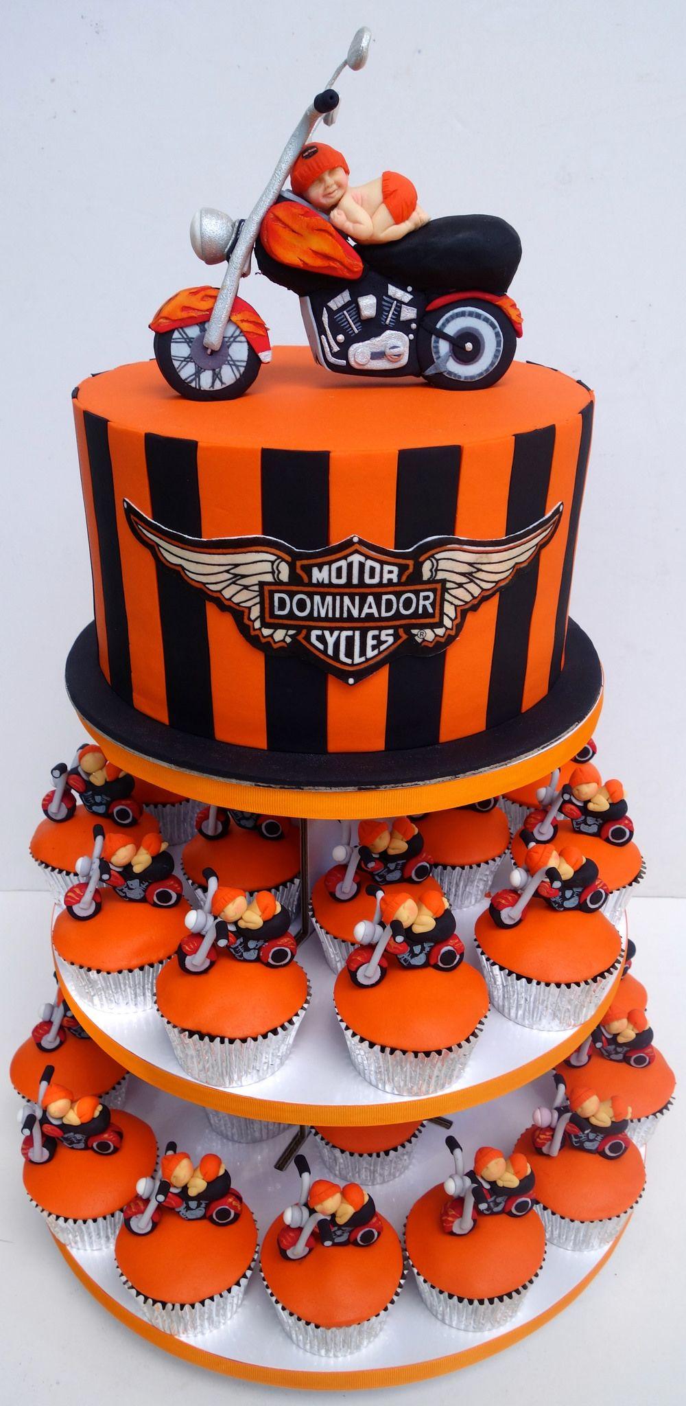 Httpsflicpuqqkye Harley Davidson Baby Cake And Cupakes