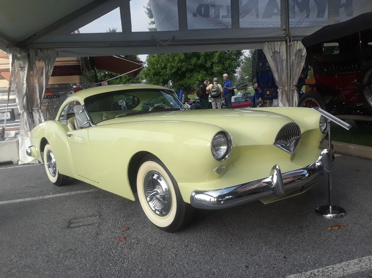 Hershey Car Show >> 2018 Aaca Fall Meet Hershey Car Show 1954 Kaiser Darren