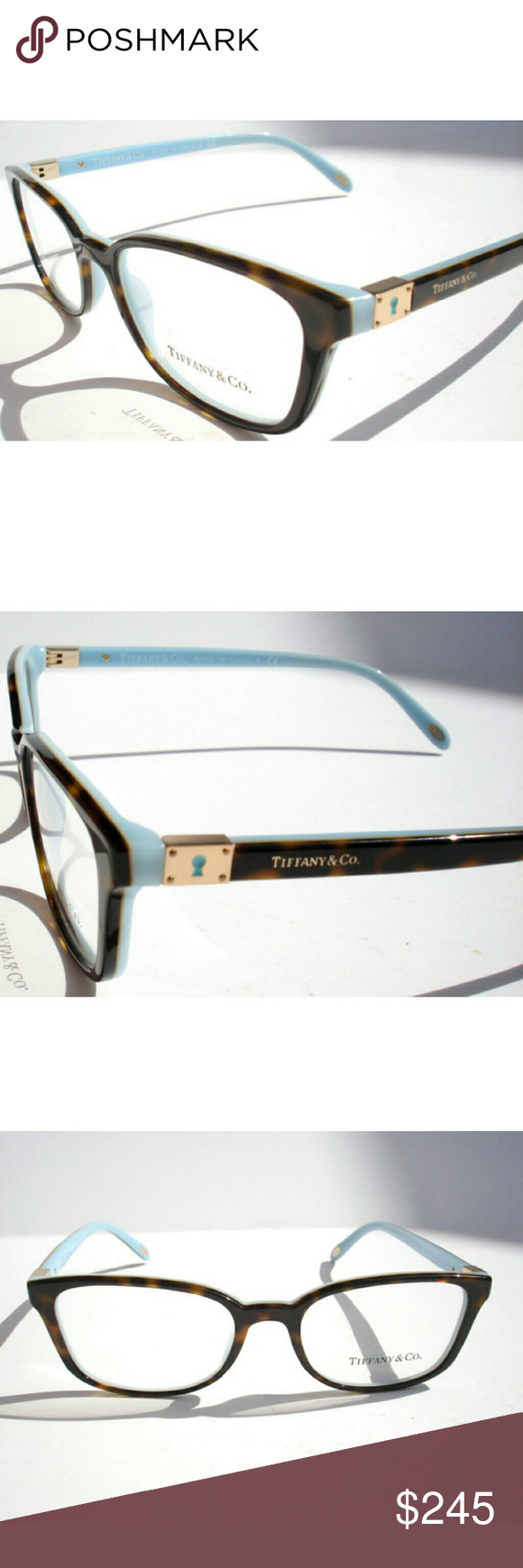 Tiffany & Co Eyeglasses Authentic Tiffany & Co Eyeglasses Brown and ...