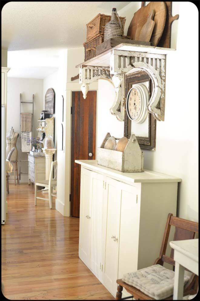 Shelf On Antique Oversized Corbels In 2019 Painted